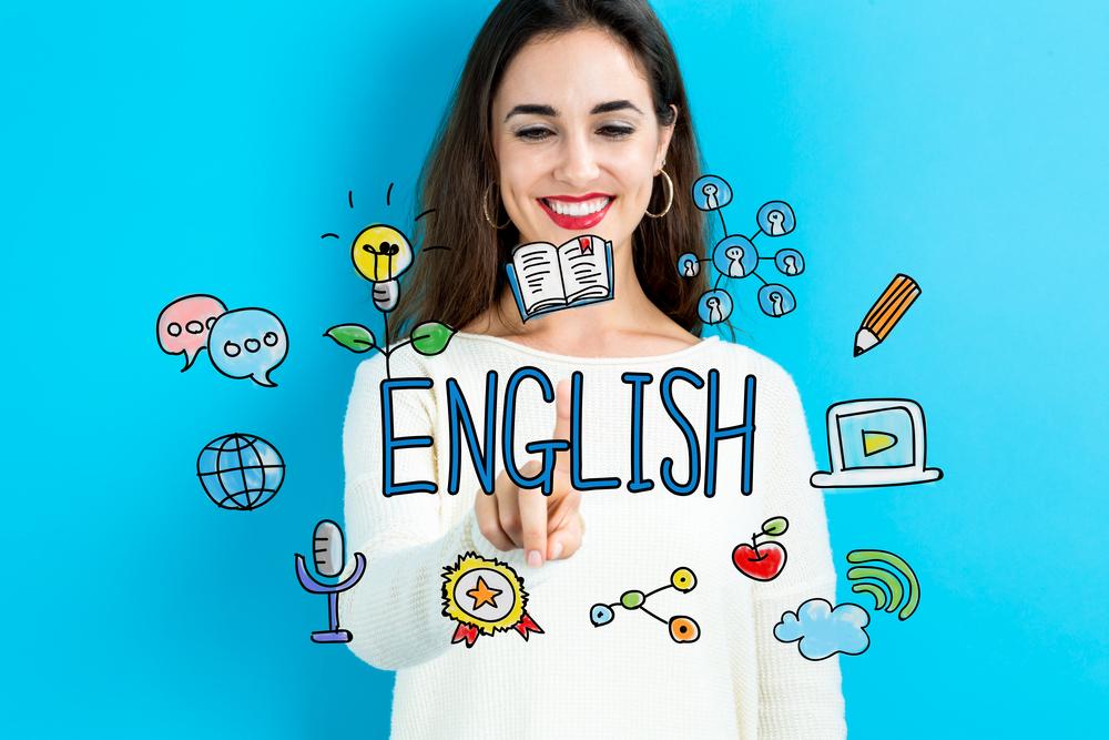 英会話を選ぶ女性