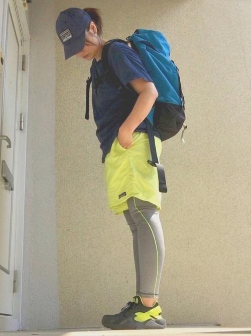 ユニクロのハイキングの服装