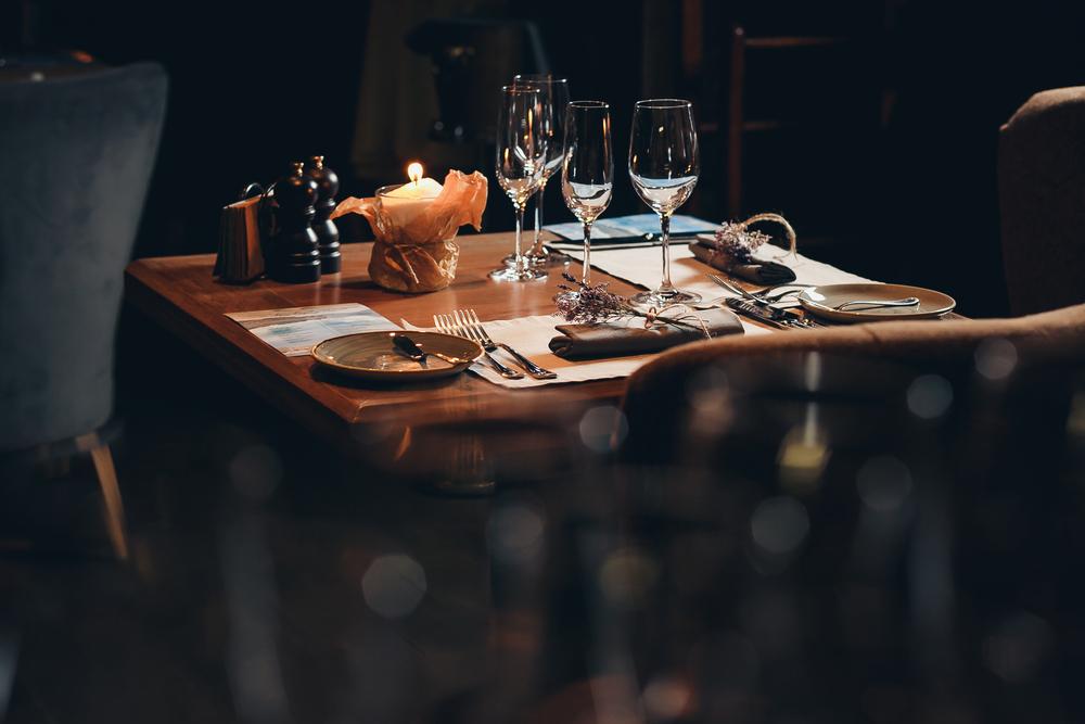 ホテルディナー