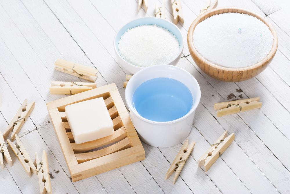 色々なタイプの洗剤