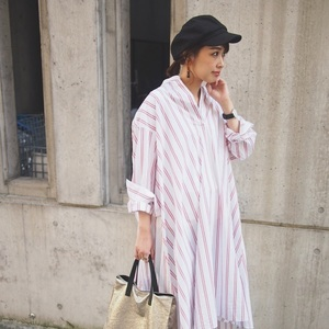 """出会いの季節、春は""""シャツワンピ""""で好印象をGET!コーデ10選"""