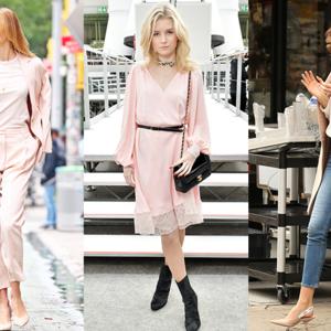 海外セレブファッション「オシャレで可愛い!春はピンクが必須です❤」