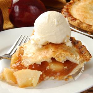 ホットドリンクといただく「グラニースミス」の絶品アップルパイ