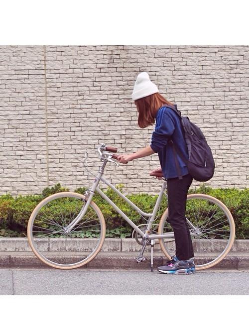 秋のサイクリングの服装