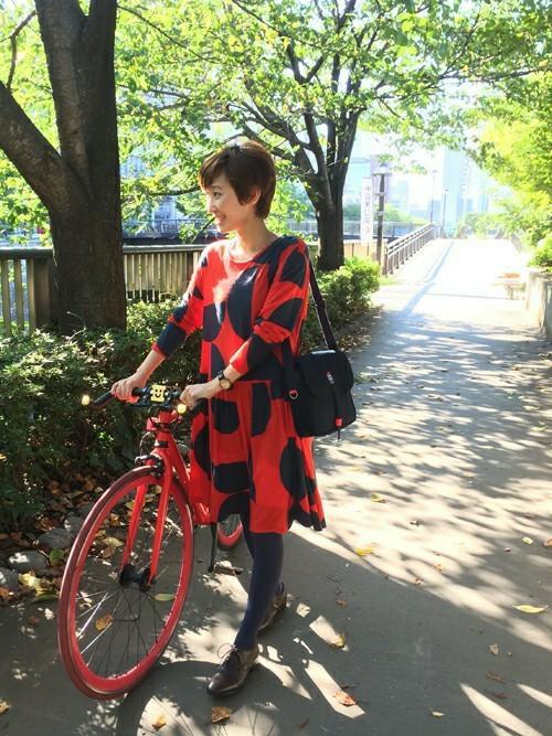 おしゃれなサイクリングの服装