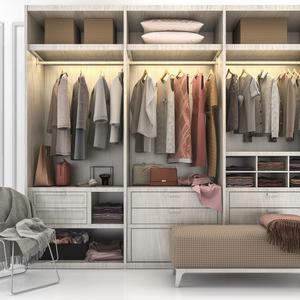 コートを上手に収納する方法は?省スペースな服のたたみ方や収納アイデアも!