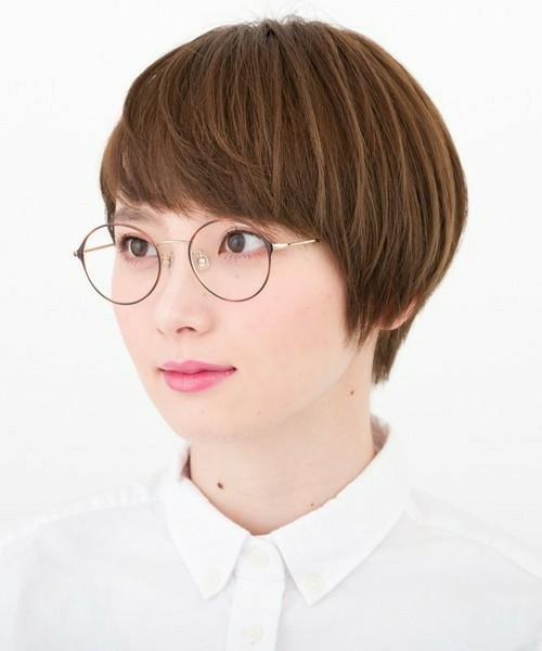 プチプラな丸眼鏡
