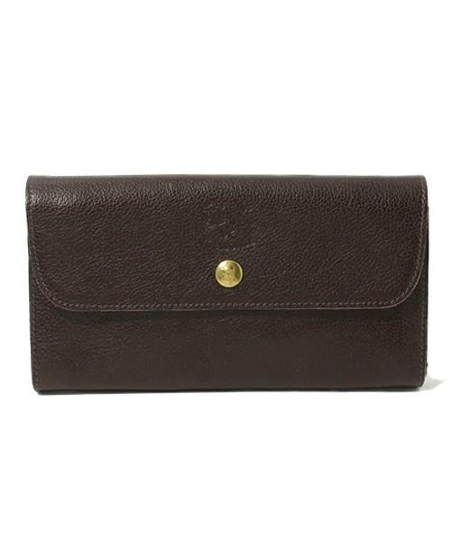 ダークブラウンの財布