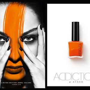 モード感たっぷりな「ADDICTION」の新色ネイルが発売!