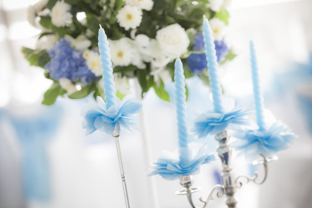 結婚式のキャンドル