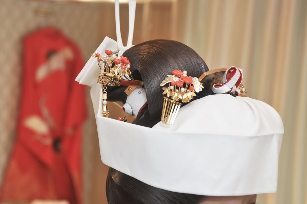 結婚式のヘア
