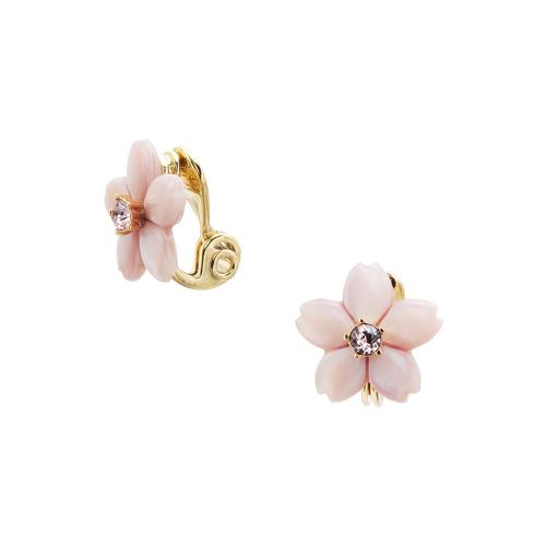 VENDOME BOUTIQUEの桜モチーフのイヤリング