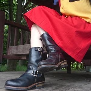 トレンドの足元を作るエンジニアブーツ!おすすめコーデや履きこなし術は?
