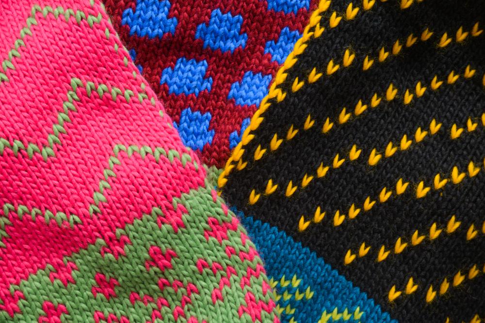 マフラーの編み図