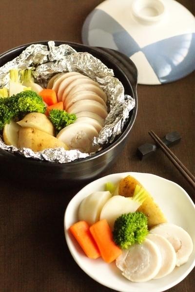 ホクホクの温野菜