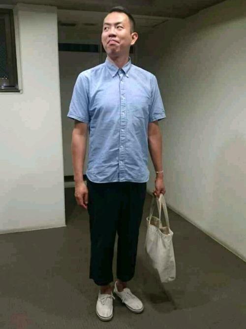 父親参観の服装(シャツコーデ)