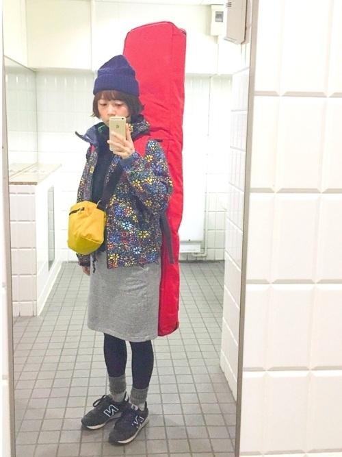 スノボに行く服装